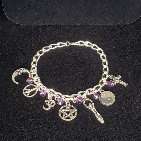 Jewelry - Amethyst Coexist Bracelet NWT
